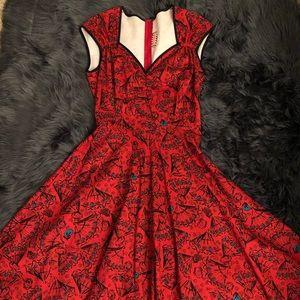 Vintage-inspired Pinup Dress